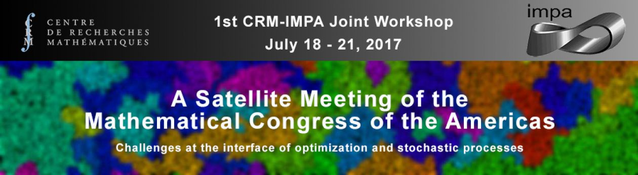 First joint CRM-IMPA workshop