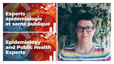 Banner of the CRM Expert Team in Epidemiology and Public Health